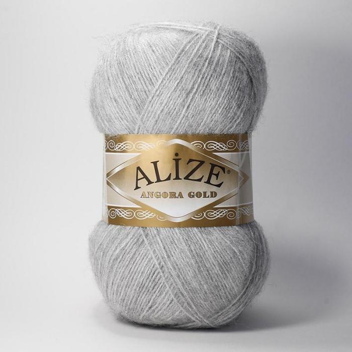 перье ализе ангора голд меланж цвета элитного