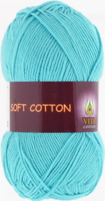 Soft Cotton 1809, св.голуб.бирюза